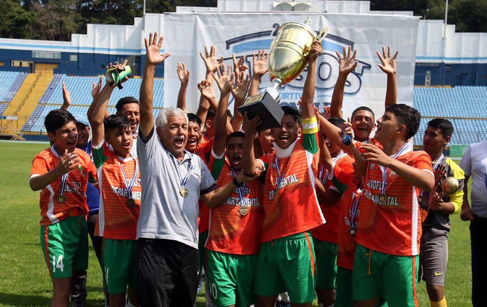 Jutiapa es el nuevo campeón de los Juegos Deportivos Nacionales de Fútbol - Periódico Oriente News
